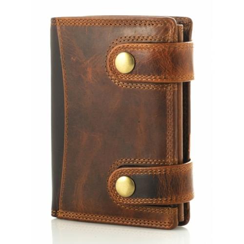 Prémium férfi viaszbőr pénztárca