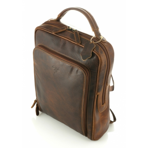 Prémium bőr hátizsák - unisex