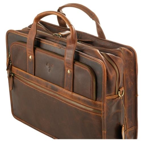 Prémium bőr laptop táska